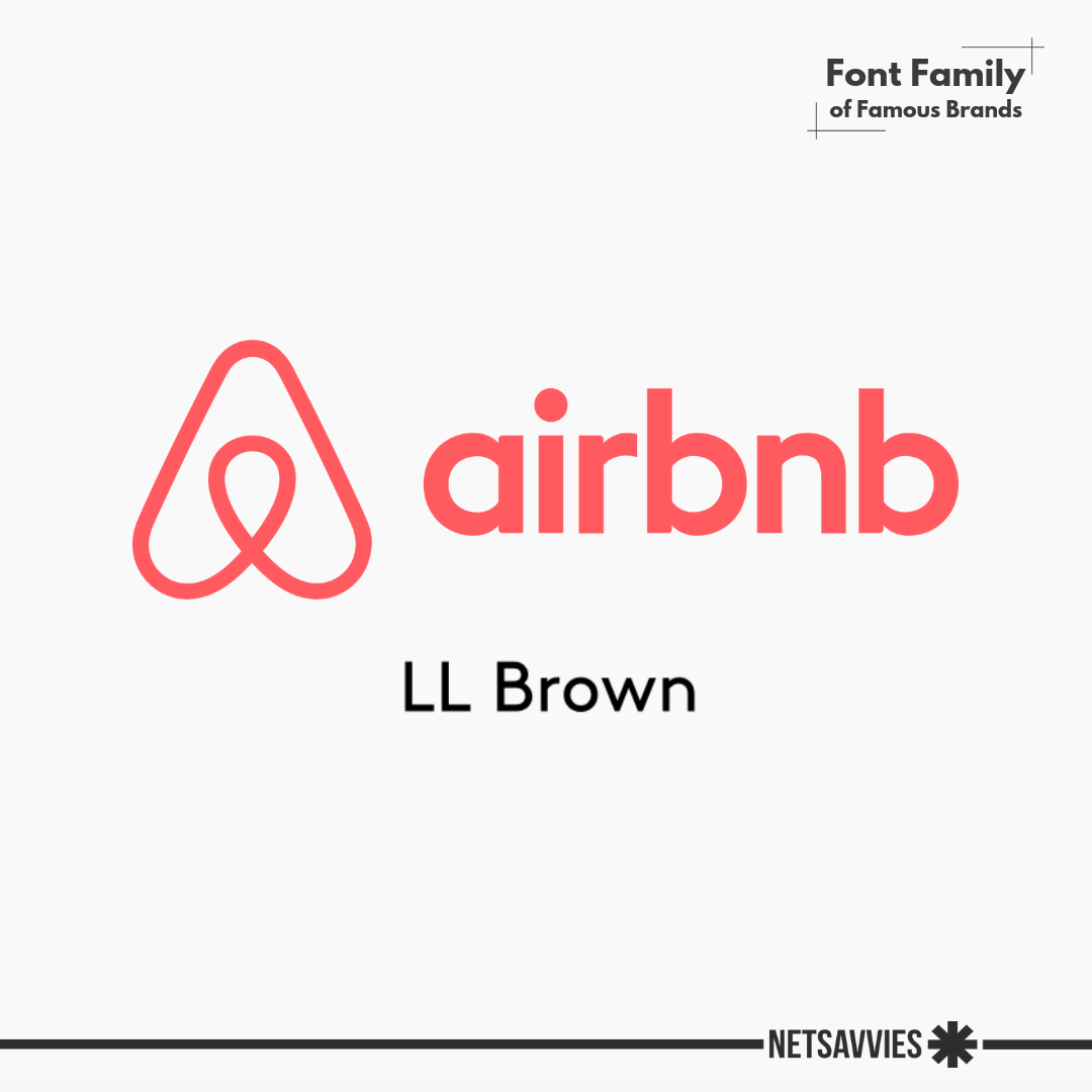 Famous Font Families- Airbnb