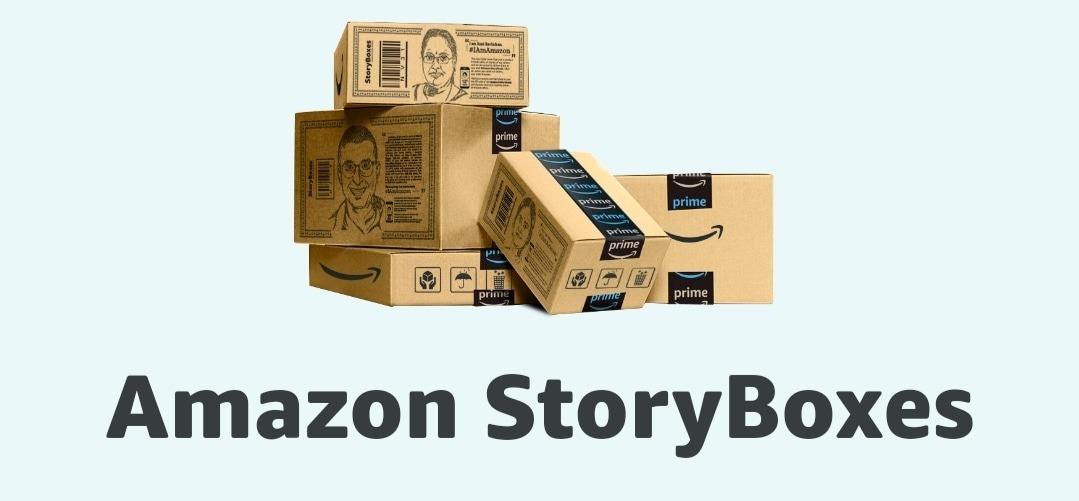 Amazon story boxes| Amazon