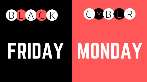 BLACK | FRIDAY| CYBER| MONDAY| SALE