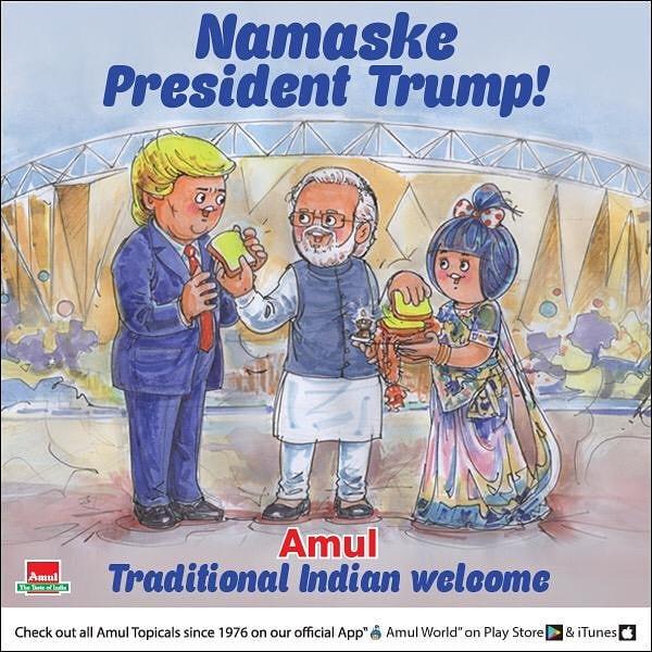 TrumpInIndia| Namaste Trump