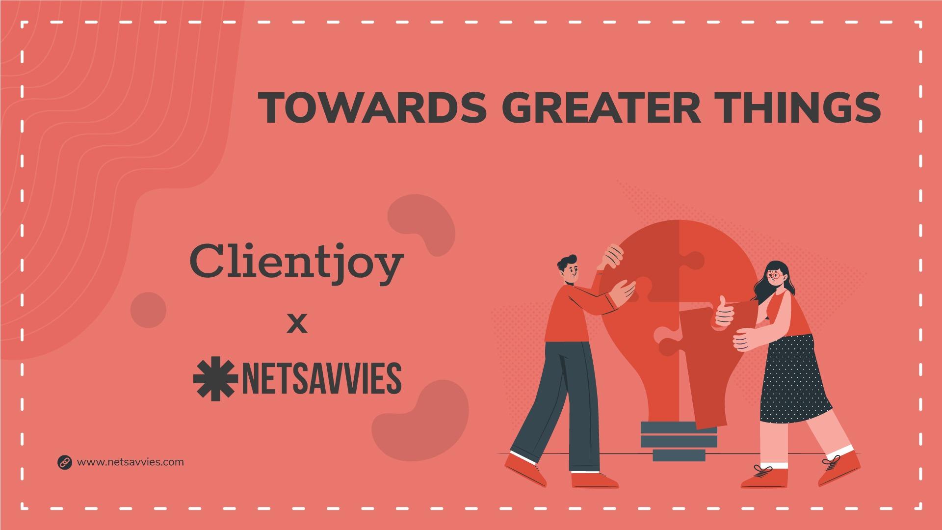 Netsavvies X Clientjoy